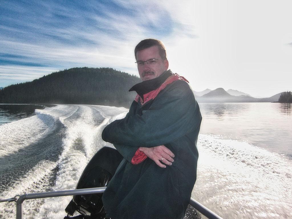 Bärensuche mit Boot