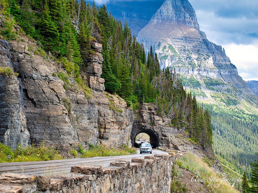 Going to the Sun Road im Glacier Nationalpark
