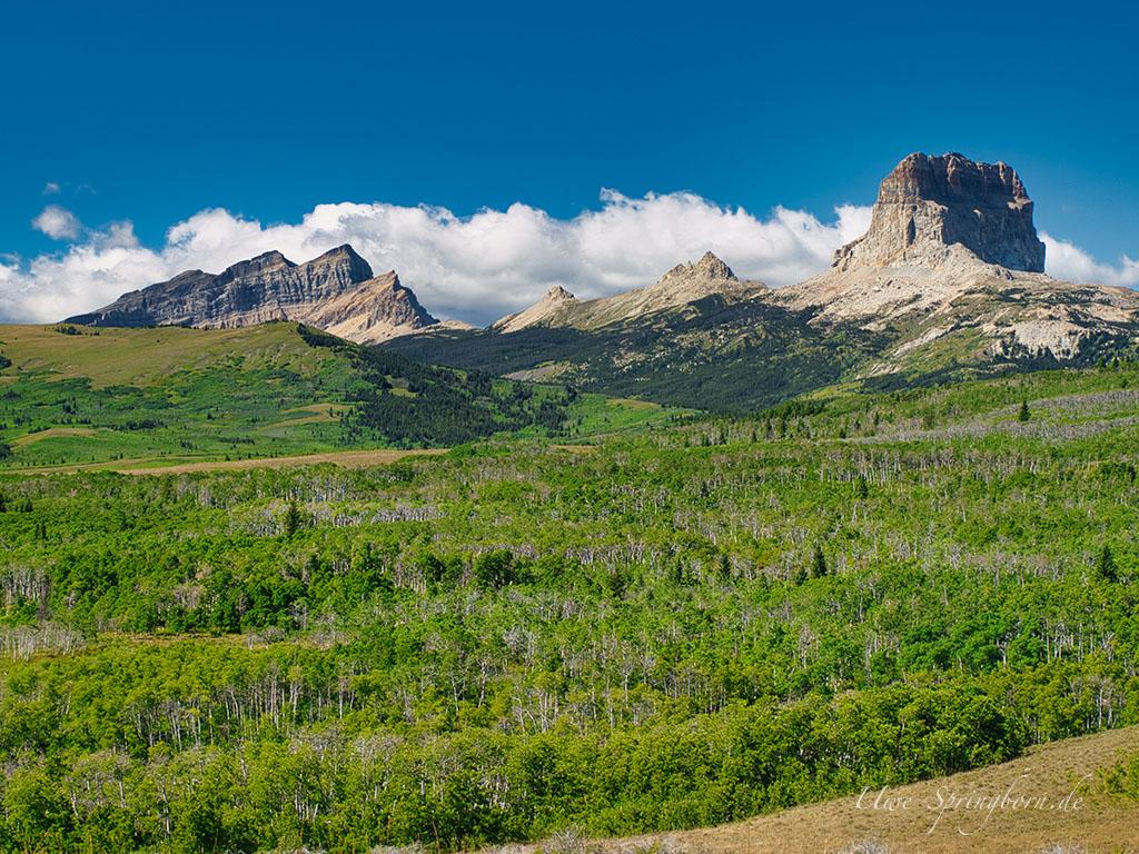 Rocky Mountains Waterton Lakes Nationalpark