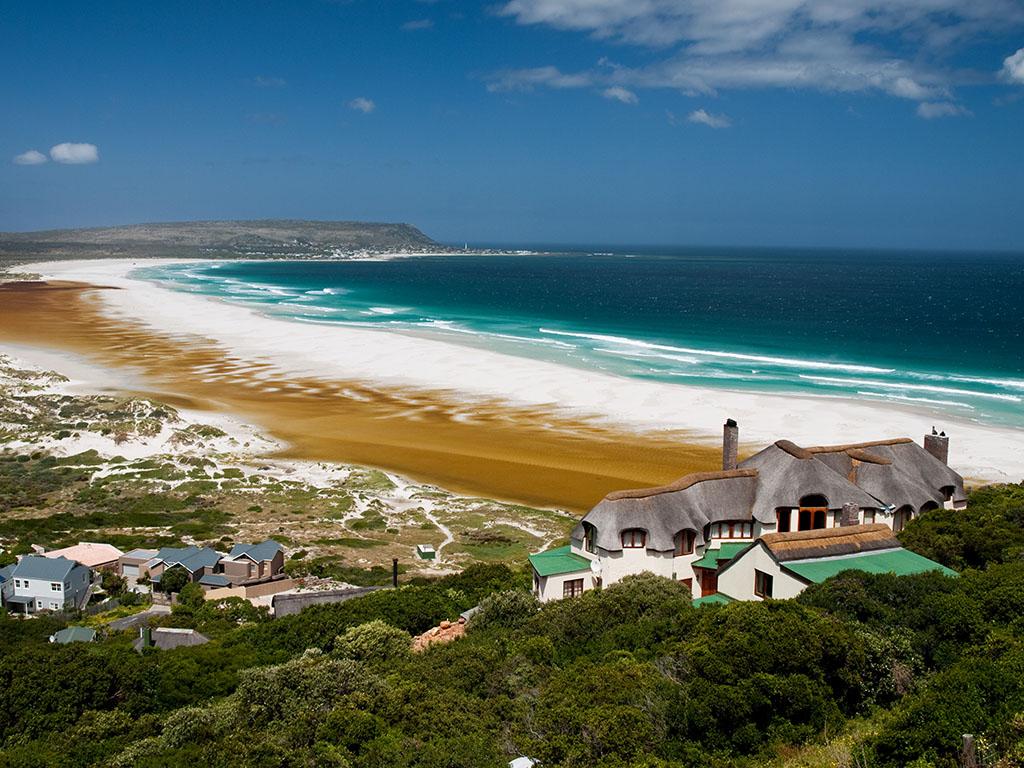 Strand zwischen Hermanus und Stellenbosch