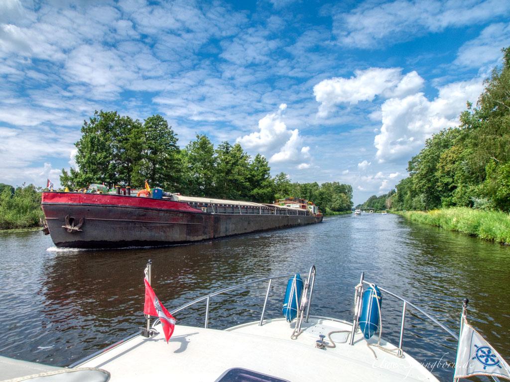 Begegnung im Oder-Spree-Kanal