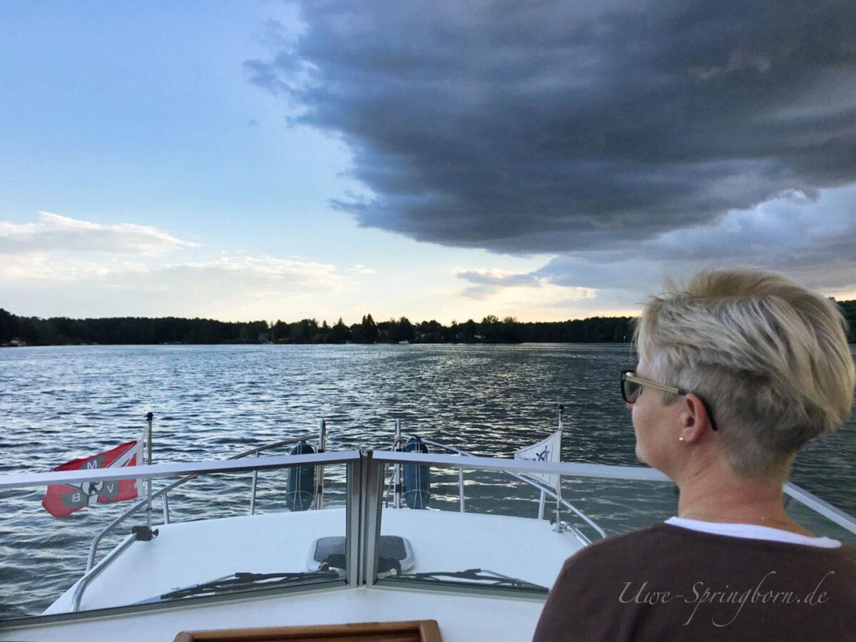 Bootsfahrt über Krossinsee